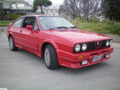 1986 Alfa Romeo Sprint Zender